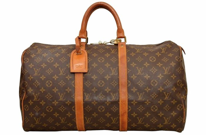 5f6935b9031 Louis Vuitton - Keepall 50 with LV Accessories - Catawiki