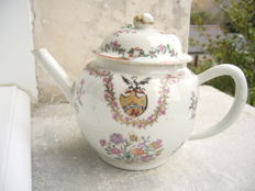 Porcelain teapot from China