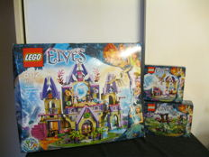 Elves 41078, 41071 and 41076 - Skyra's Mysterious Sky Castle, Aira's Creative Workshop and Farran and the Crystal Hollow