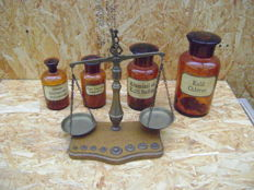 Pharmacy Set with Weights