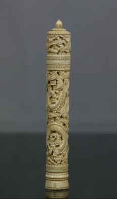 canton ivory case, 19th