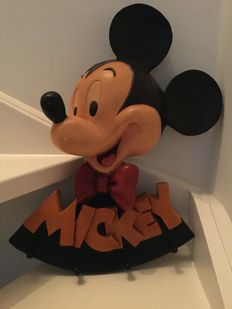 Disney, Walt - Relief Coat Rack - Mickey Mouse (1980s/90s)