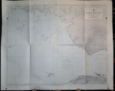 Global nautical charts ( New Guinea, Indonesia)