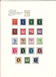 Great Britain - Collection in an album