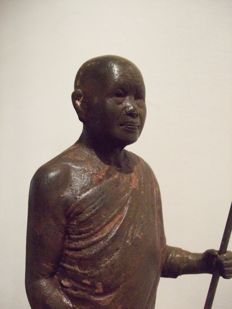 Asian monk - Thailand - early 20th century (35 cm)
