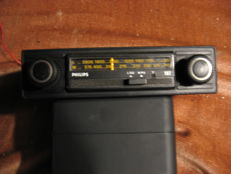 Philips car radio - 22 AN 182 Model - Circa 1970