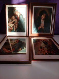 4 pictures of the Madonna