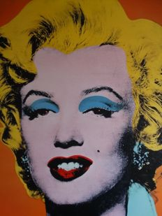 Andy Warhol (after) - Marilyn