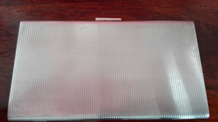 Cigarette case in silver 925, Florence first half of the 20th century