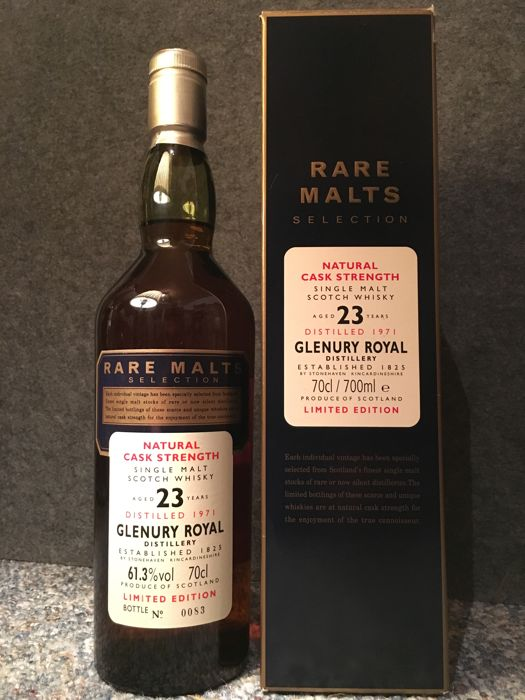 Glenury Royal 1971 23 years old Rare Malts 61.3% - OB