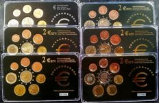 Europe - 'Memorial Series' - From 0.01 cents to 2.00 euros (48 different coins)