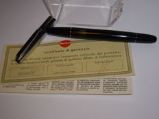 Vintage AURORA 88D piston filler fountain pen 14K M nib in box with papers