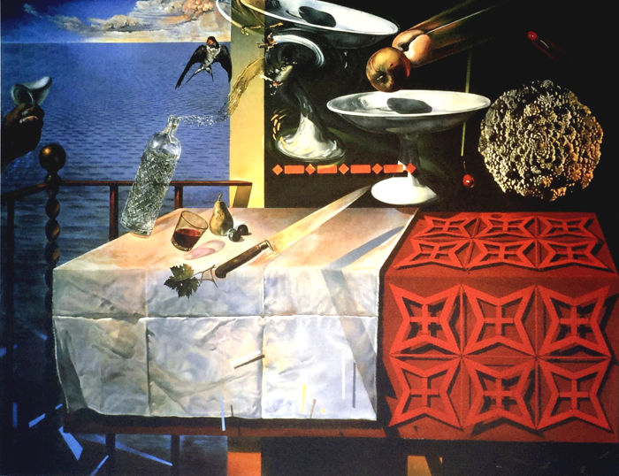 Salvador Dalí (after) - Living Still Life