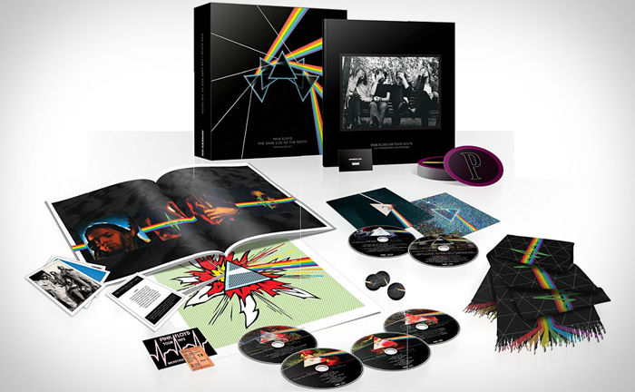 Pink Floyd - Dark Side Of The Moon Immersion Limited Deluxe Boxset / 3xCD, 2xDVD, 1xBlu-Ray / Collector's Edition