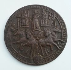 Paul Gregoire - bronze medal first visit to Amsterdam princess Beatrix