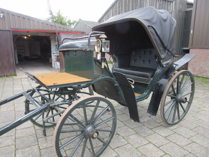 Antique original Victoria carriage - period 1900