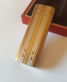 Lighter Cartier Santos, revised, no gas leaks, lighter briquet feuerzeug