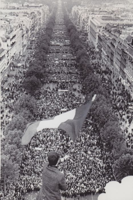 Unknown - Paris, May 1968 events