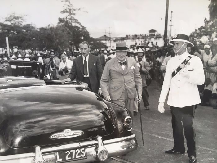 Unknown/AFP - Gleaner photo - Winston Churchill, 1950s / 1960s