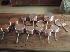 Copper pans from France 10 copies
