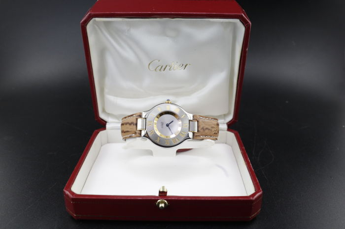 Cartier - Must de - NOS con Scatola  - w1007323 - Dames - 1990-1999
