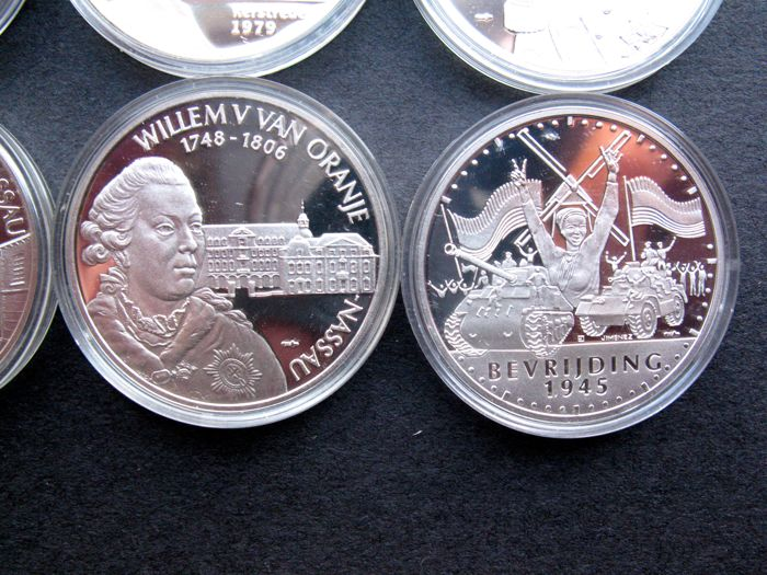 the Netherlands - silver pennies