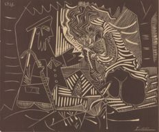 Pablo Picasso (after) - Luncheon on the Grass