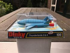 Dinky Toys - Scale unknown - Thunderbirds 2 & 4 No.206