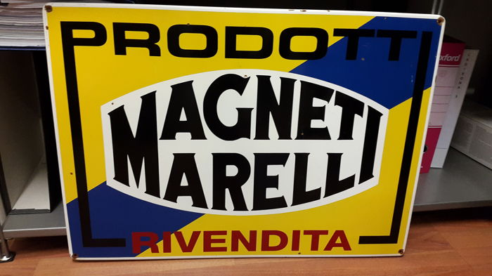 Magneti Marelli sign from the 90s
