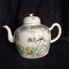 Teapot, Famille rose - China - 1889