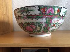 Handmade Chinese porcelain bowl - China - late 20th century