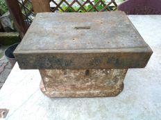 Antique box for alms - ca. 1800s