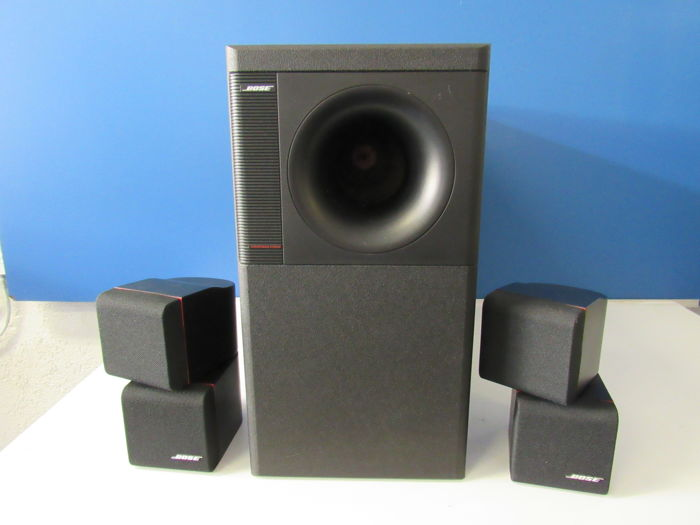very beautiful bose acoustimass 5 series ii catawiki. Black Bedroom Furniture Sets. Home Design Ideas