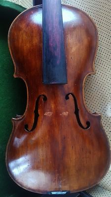 Interesting old antique violin