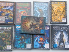 Monsters of Metal - The ultimate metal compilation volume 1 till 9.  (18 DVD's + 2 Blue ray disks).