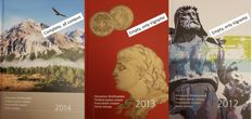Switzerland - 2 yearbooks, 1983, 2014 and 5 Pro Juventute booklets 1982/86.