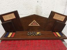 'Whizz-Bang1' Rare & Unusual Art Deco Wooden Ball Bearing Game