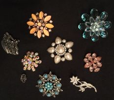 Vintage broches - 20e eeuw.