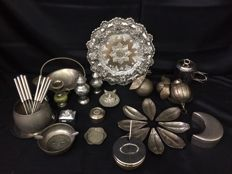 Extensive Silver Plated Lot - Mostly First Half of 20th Century