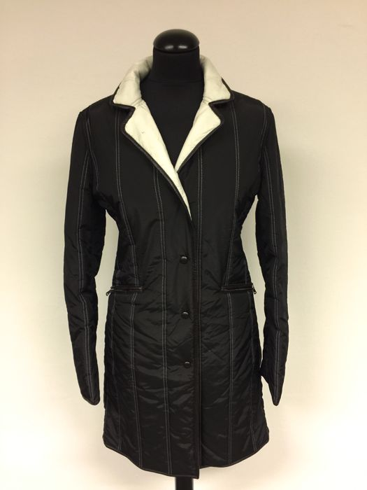 Fay  - 2 parts quilted coat + quilted waistcoat - Size: S