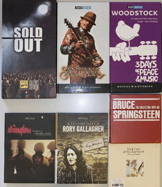 20 CD Music Collection: Nick Cave, Gallagher, Springsteen, Santana, Sold Out, Stranglers, Woodstock