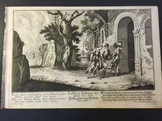 No. 10 original engravings by Martin Engelbrecht (Augusta, 1684/1756)