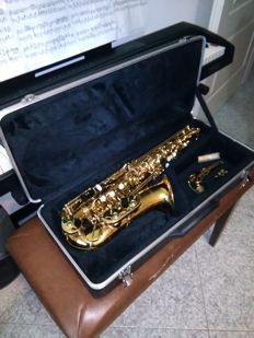 Sax G. Giant high very warm sound for any music genre, no cork, complete with its case