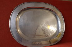 Large Silver Plated tray - 1950 - Portugal