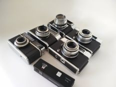 Collection of 6 Voigtländer cameras