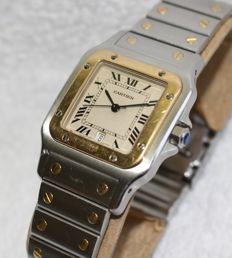 Cartier - Santos Galbee  - 1566 - Men - 1990-1999