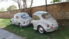 VW Beetle 1300 with trailer, year of production: 1968