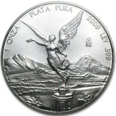 Mexico - Libertad 2009 - 1 OZ silver - Very Rare!