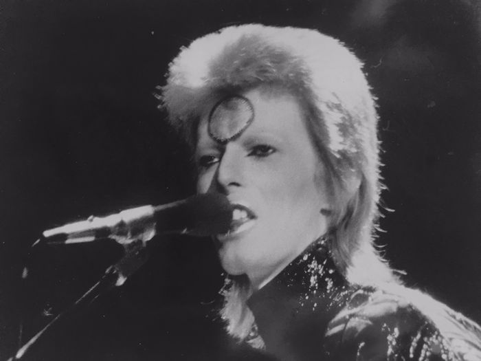 "Unknown / NUJ (National Union Journalists) - David Bowie, ""Ziggy Stardust Tour"", Earl's Court, London, 1973"