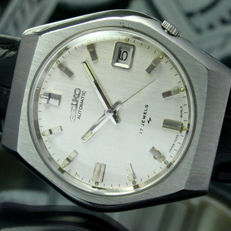 SEIKO Automatic Date Steel Mens Wrist Watch 7025 - 8040